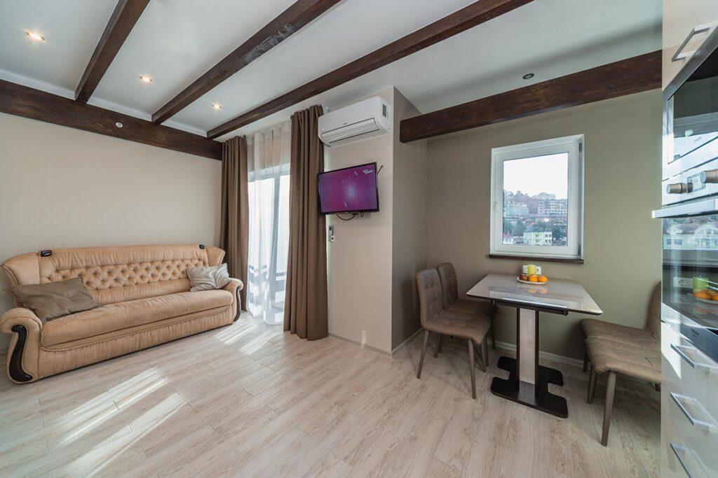 дизайнерский ремонт двухкомнатной квартиры