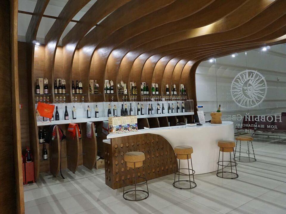 ремонт винного магазина в крыму