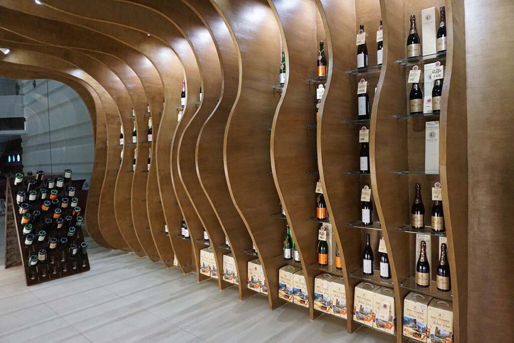 ремонт винного магазина