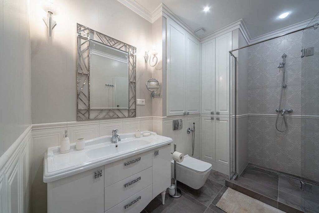 ремонт квартир душ
