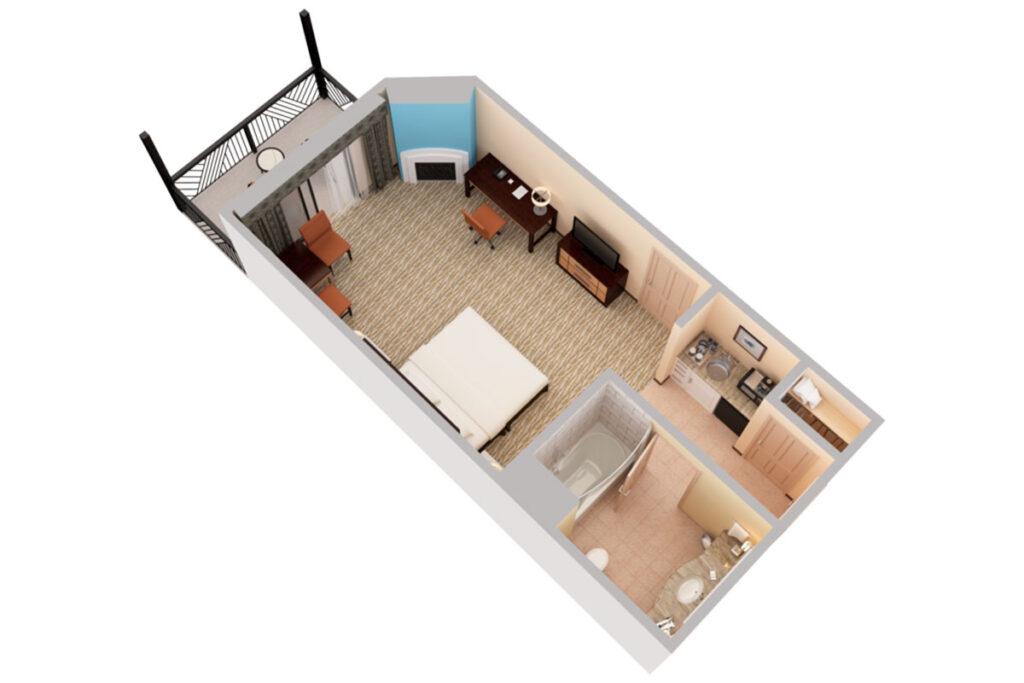 Ремонт однокомнатной квартиры в Ялте