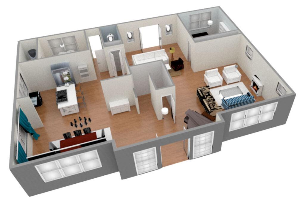 Ремонт двухкомнатной квартиры в Ялте